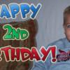 Happy 2nd Birthday Cory!!